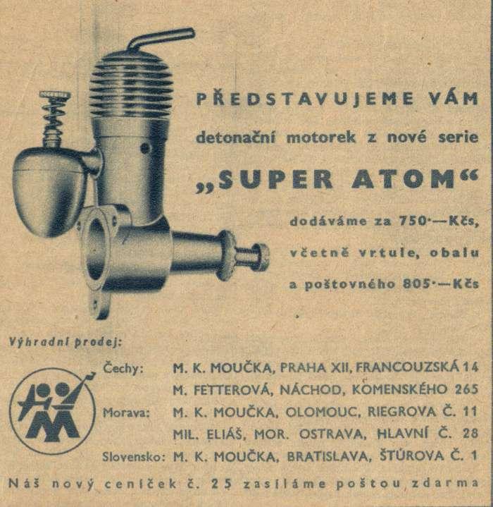Foto č. 5 - SUPER ATOM - první inzerát, ROZLET, ročník II., 5. červen 1946